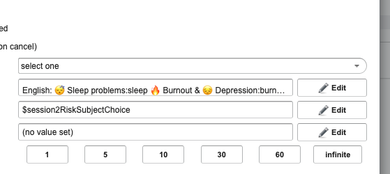 select topic
